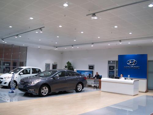 Hyundai in Showroom_